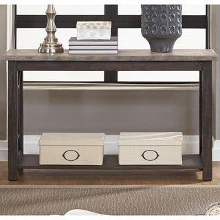 Heatherbrook Charcoal and Ash Sofa Table
