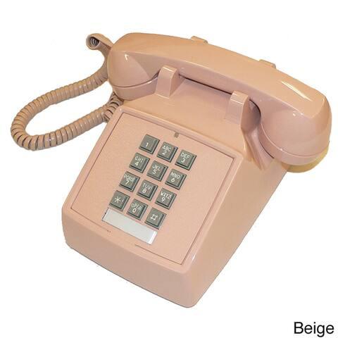 Cortelco 2500 Basic Desk Phone with Volume Control