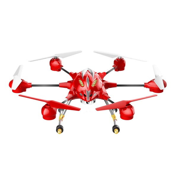 Riviera RC Red Pathfinder Wi-Fi Hexacopter Drone
