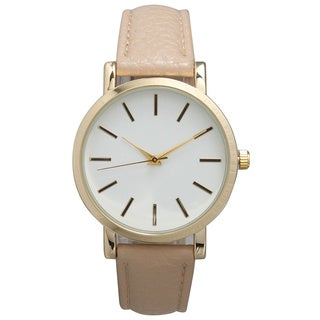 Olivia Pratt Women's Leather Classic Watch