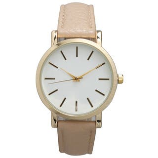 Olivia Pratt Women's Leather Classic Watch|https://ak1.ostkcdn.com/images/products/12033042/P18905567.jpg?impolicy=medium