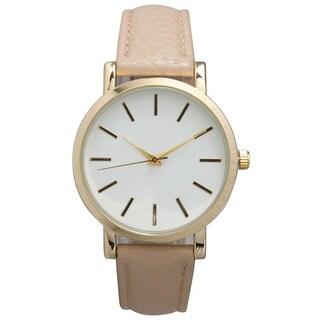 Olivia Pratt Women's Leather Classic Watch