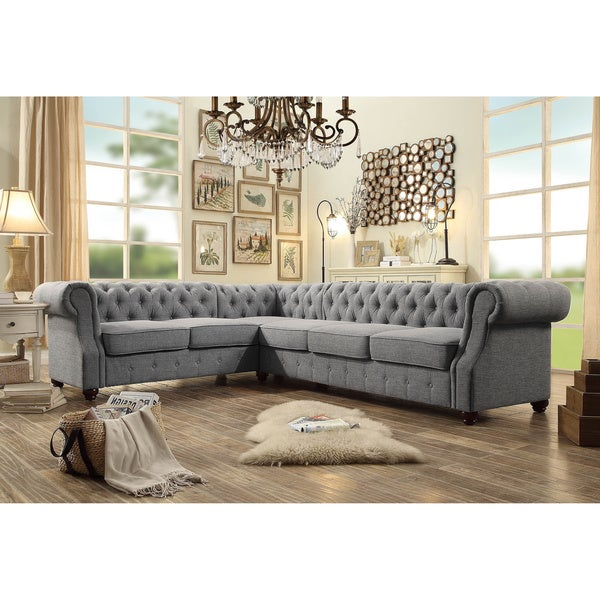 Shop Moser Bay Furniture Olivia Tufted 6-seat Sectional