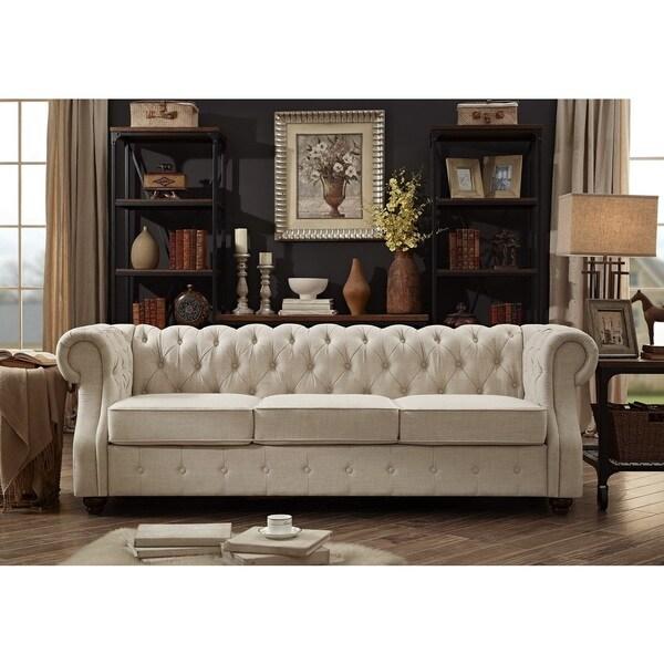 Moser Bay Furniture Olivia Tufted Sofa