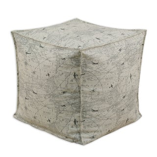 Air Traffic Felix 12.5-inch Square Footstool
