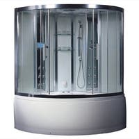 Platinum DZ972F8 Acrylic and Glass Computerized Steam Shower