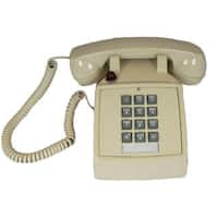 Cortelco Basic Desk Phone with Message Waiting Light