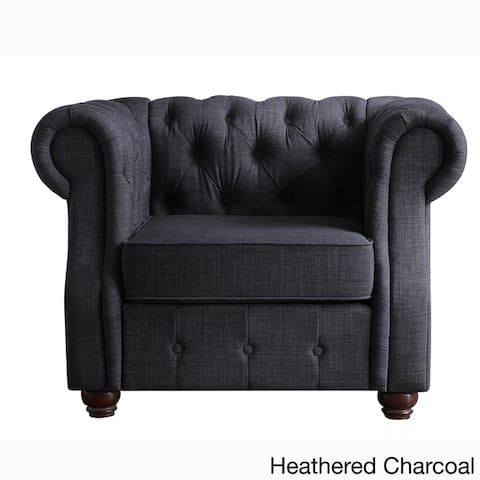 Moser Bay Furniture Olivia Tufted Arm Chair