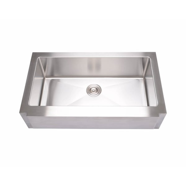 Hahn Notched Farmhouse Kitchen Sink: Shop Hahn Notched Farmhouse Stainless Steel Extra-Large