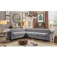 Moser Bay Furniture Linen 6-seat Sectional Sofa Set