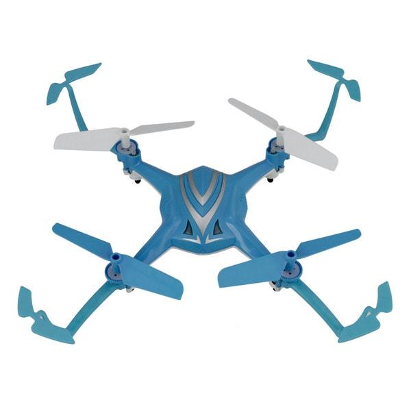 Riviera RC RIV-A5B Blue 9.5-inch x 9.5-inch x 2.5-inch Stunt Quad Drone