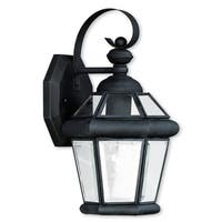 Livex Lighting Georgetown Black 7x11x7.5in 1light Outdoor Wall Lantern