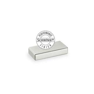 Schwinn Hardware Silver Aluminum, Copper, Metal, Zinc Horizontal Bar