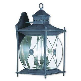 Livex Lighting Providence Charcoal 1-light Outdoor Wall Lantern