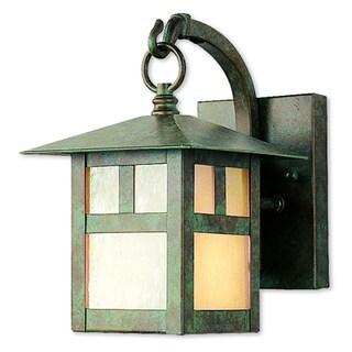 Livex Lighting Montclair Mission Verde Patina Outdoor Wall Lantern