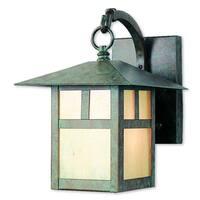 Livex Lighting Montclair Mission 2131-16 Verde Brass 1-light Patina Outdoor Wall Lantern