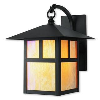 Livex Lighting Montclair Mission Bronze 1-light Outdoor Wall Lantern