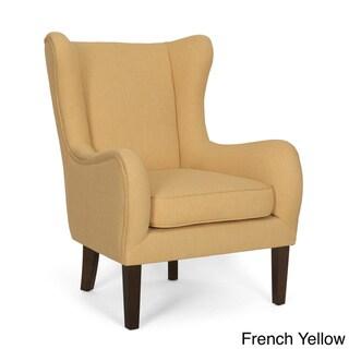 Fulton Rubberwood/Fabric/Foam Wing Chair
