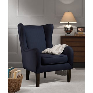 Fulton Rubberwood/Fabric/Foam Wing Chair