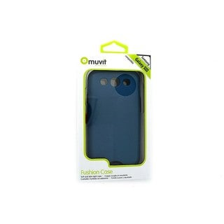 Muvit MUBMC0051 Fushion Blue Case for Samsung Galaxy S3 III