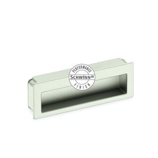 Schwinn Hardware Z078 96-millimeter Satin Nickel Flush Pull AM Performance