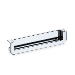Schwinn Hardware Polished Chrome 5.28-inch Recessed Edge Pull