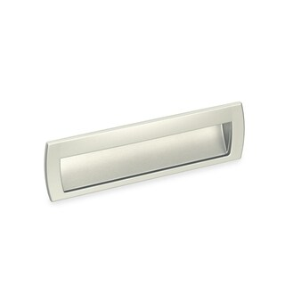 Schwinn Hardware 2578 160-millimeter Satin Nickel Flush Pull