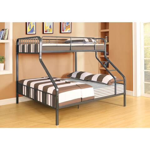 Caius Gunmetal Twin XL/Queen Bunk Bed