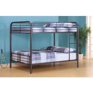 Bristol Grey Gunmetal Full/Full Bunk Bed