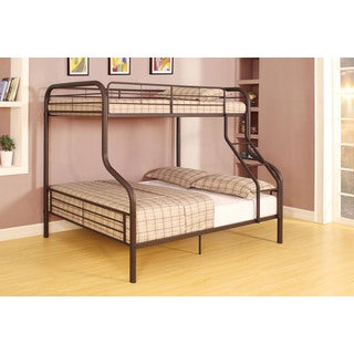 Cairo Sandy Black Twin/Full Bunk Bed
