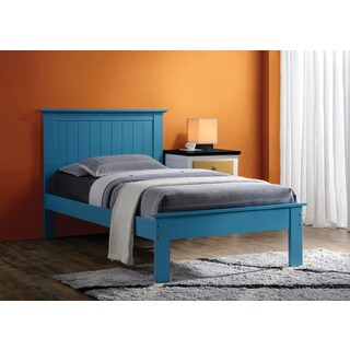 Prentiss Collection Blue Wood Twin Bed