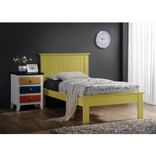 Prentiss Yellow Twin Bed