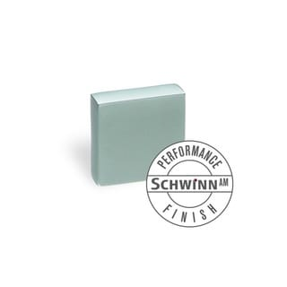 Schwinn Hardware 2266 16-millimeter Matte Chrome Square Knob AM Performance