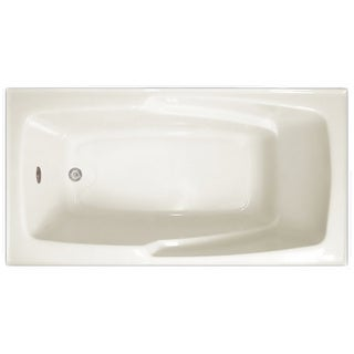Signature Bath White Acrylic 60 x 32 x 17.5-inch Drop Bath