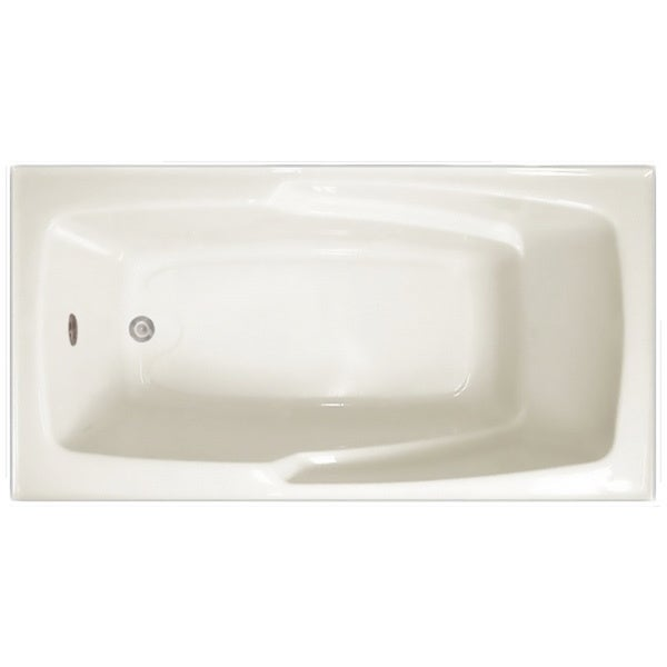 Shop Signature Bath White Acrylic 60 X 32 X 17 5 Inch Drop