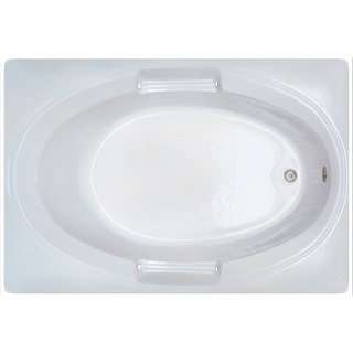 Vogue 60 X 42 White Soaker Tub Free Shipping Today