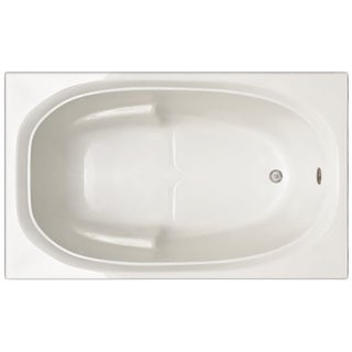 Signature Bath White Acrylic 60-inch x 30-inch x 19-inch Drop-in Bathtub