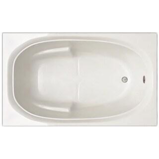 Signature Bath White Acrylic 60-inch x 30-inch x 19-inch Drop-in Bathtub