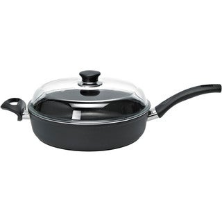 Ballarini Rialto Covered Aluminum 3.75-quart Non-stick Saute Pan with Thermopoint Heat Indicator