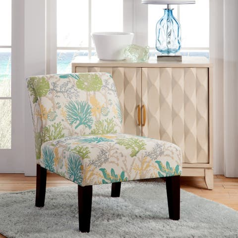 Armless Slipper Accent Chair