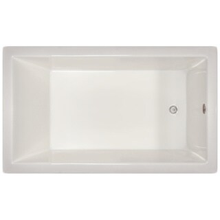 Signature Bath 72-inch x 42-inch x 18-inch Drop-in Bath - White