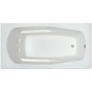 Signature Baths White Acrylic 66-inch x 32-inch x 17.5-inch Drop-in Bathtub