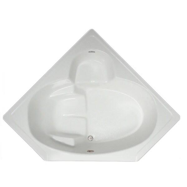 bath 60 inch x 60 inch x 31 inch 18 5 inch deep corner drop in bath