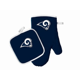 Los Angeles Rams NFL Logo Oven Mitt and Pot Holder