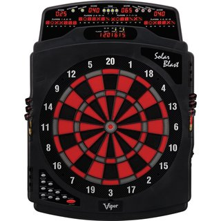 Viper Solar Blast 42-1021 15.5-inch Regulation Electronic Soft Tip Dartboard - Black