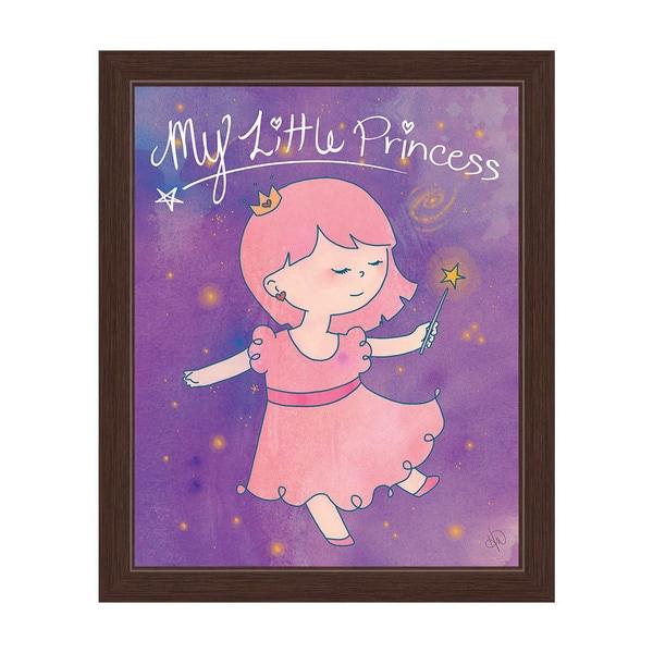 Shop My Little Princess Espresso Frame Wall Art On Sale Free