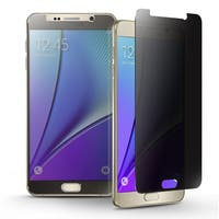INSTEN Privacy Anti-Spy Tempered Glass LCD Screen Protector Film Cover For Samsung Galaxy Note 5