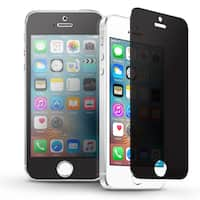 INSTEN Privacy Anti-Spy Tempered Glass LCD Screen Protector Film Cover For Apple iPhone 5/ 5S/ SE