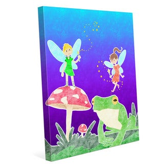 Art and Photo 'Fairies' Graphic Wall Art Print on Canvas