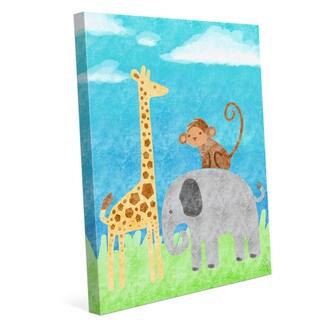 'Wild Animals' Children's Graphic Print